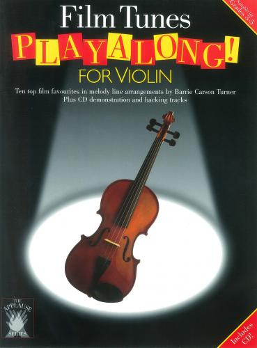 Applause: Film Tunes Playalong For Violin CH61831